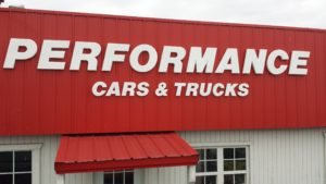 Performance Cars Channel Letters