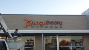 Orange Theory Fitness Channel Letters