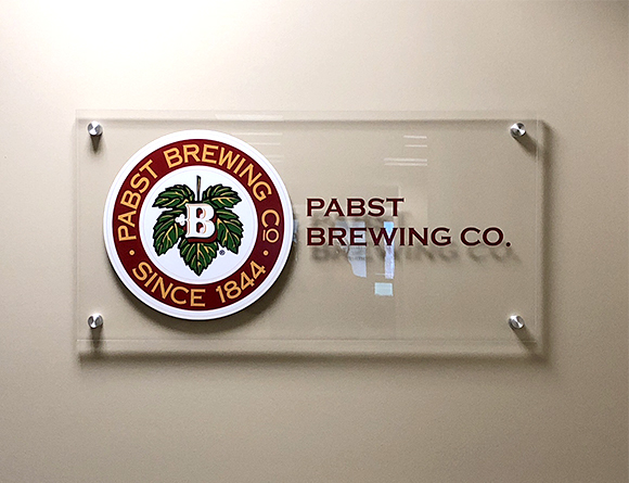 Pabst Brewing Interior Custom Acrylic